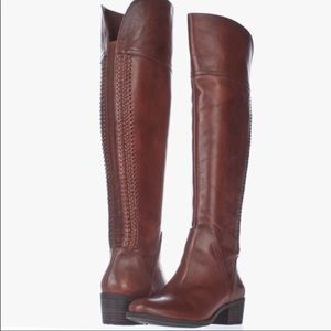 Vince Camuto BENDRA Over the knee boots tall brown